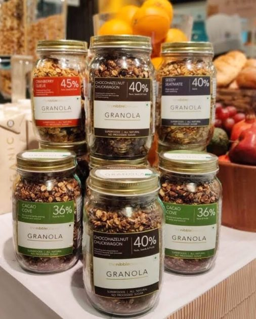 The Nibble Box Granola Jars