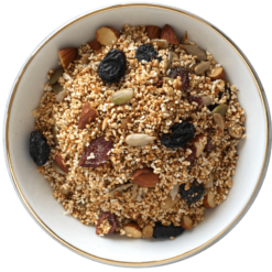 The Nibble Box Amaranth Amore Granola