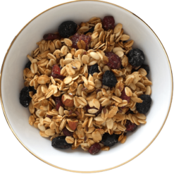 The Nibble Box Cranberry Queue Granola